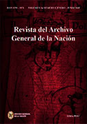 Revista del Archivo General de la Nación Vol. 34 N° 1